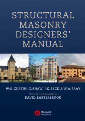 Structural Masonry Designers' Manual (Hardback)