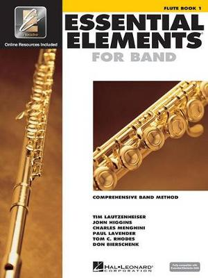 Essential Elements 2000: Flute Book 1 (Book/CD-ROM) (Paperback)