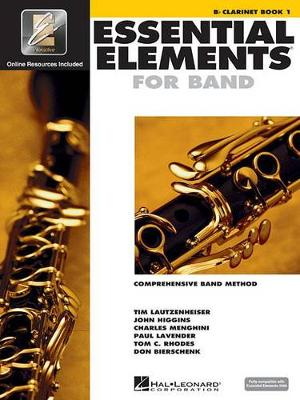 Essential Elements 2000: Clarinet Book 1 (Book/CD-ROM) (Paperback)
