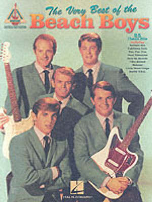 The Very Best of the Beach Boys: Guitar Recorded Versions (Paperback)
