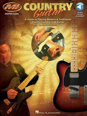 Al Bonhomme: Country Guitar (Book/Online Audio) (Paperback)