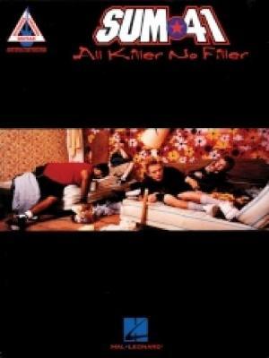 Sum 41 - All Killer No Filler: Guitar Tab (Paperback)