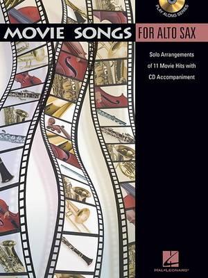 Movie Songs (Alto Saxophone) (Paperback)