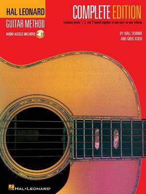 Hal Leonard Guitar Method Complete Edition + Audio (Book)