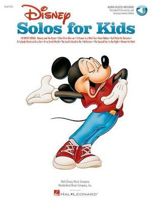 Disney Solos For Kids (Book/Online Audio) (Paperback)
