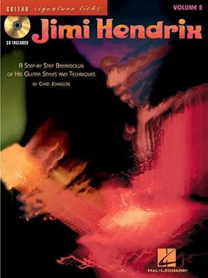 Jimi Hendrix: Guitar Signature Licks Volume 2 (Book/CD) (Paperback)
