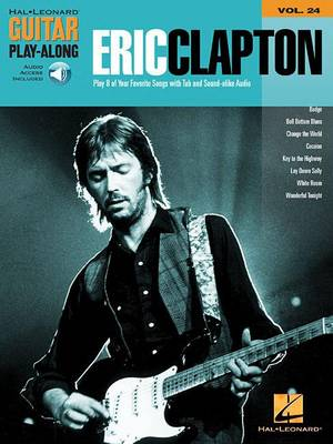 Guitar Play-Along Volume 24: Eric Clapton (Book/Online Audio) (Paperback)