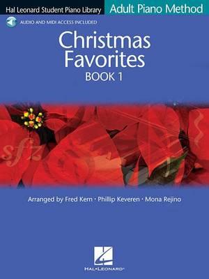 Hal Leonard Student Piano Library: Book 1: Adult Piano Method - Christmas Favorites