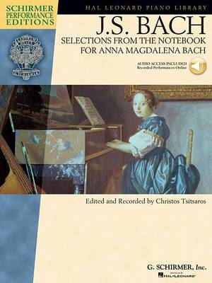 J.S. Bach: Selections From The Notebook For Anna Magdalena Bach (Paperback)