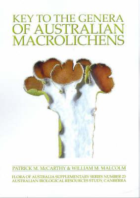 Key to the Genera of Australian Macrolichens - Flora of Australia Supplementary Series (Paperback)