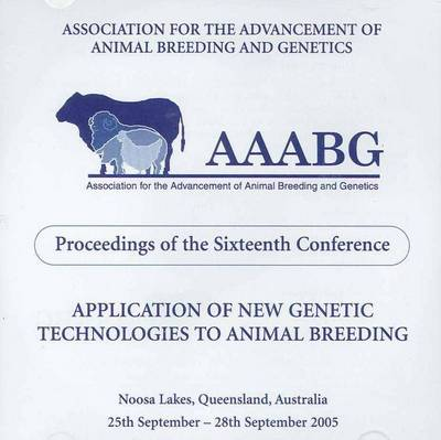 Application of New Genetic Technologies to Animal Breeding (CD-Audio)