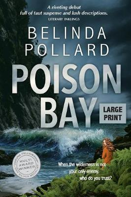 Poison Bay: A Wild Crimes Murder Mystery (Large Print) (Paperback)