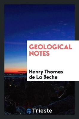 Geological Notes (Paperback)
