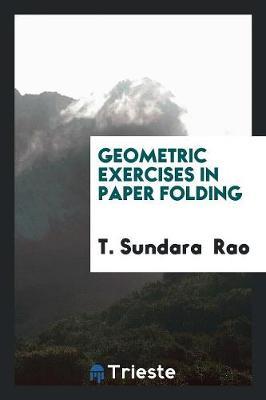 Geometric Exercises in Paper Folding (Paperback)