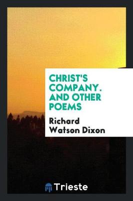 Christ's Company: And Other Poems (Paperback)