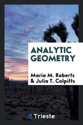 Analytic Geometry (Paperback)