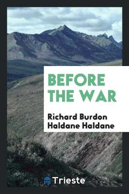 Before the War (Paperback)
