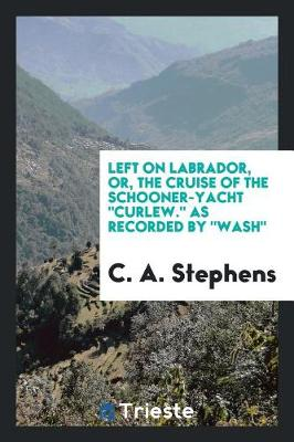 Left on Labrador, Or, the Cruise of the Schooner-Yacht Curlew. as Recorded by Wash (Paperback)