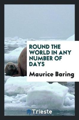 Round the World in Any Number of Days (Paperback)