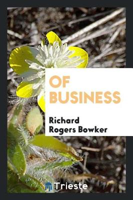 Of Business (Paperback)