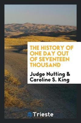 The History of One Day Out of Seventeen Thousand (Paperback)