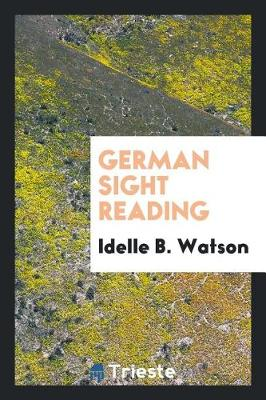 German Sight Reading (Paperback)