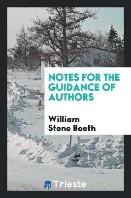 Notes for the Guidance of Authors (Paperback)