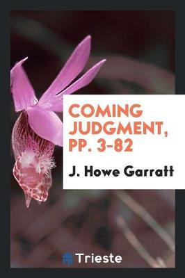 Coming Judgment, Pp. 3-82 (Paperback)