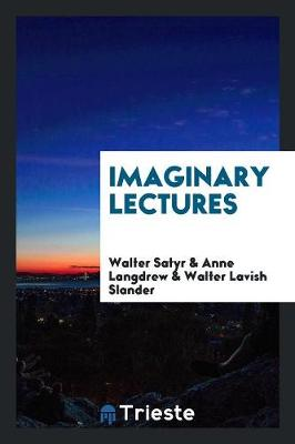 Imaginary Lectures (Paperback)