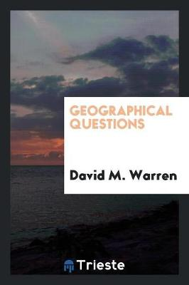 Geographical Questions (Paperback)