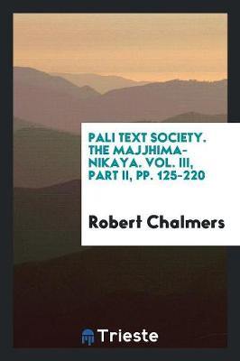 Journal of the Pali Text Society (Paperback)