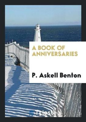 A Book of Anniversaries (Paperback)