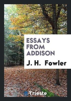 Essays from Addison (Paperback)