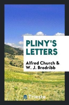 Pliny's Letters (Paperback)