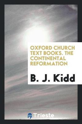 The Continental Reformation (Paperback)