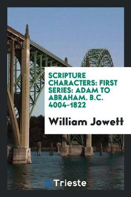 Scripture Characters (Paperback)