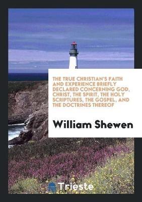 The True Christian's Faith and Experience Briefly Declared Concerning God, Christ, the Spirit, the Holy Scriptures, the Gospel, and the Doctrines Thereof (Paperback)