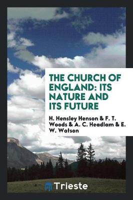 The Church of England: Its Nature and Its Future (Paperback)