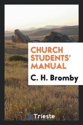 Church Students' Manual (Paperback)