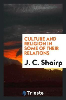 Culture and Religion in Some of Their Relations (Paperback)
