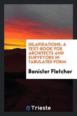 Dilapidations (Paperback)