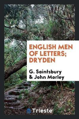 English Men of Letters; Dryden (Paperback)