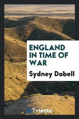 England in Time of War (Paperback)