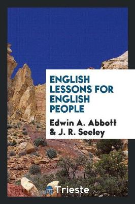 English Lessons for English People (Paperback)