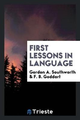 First Lessons in Language (Paperback)