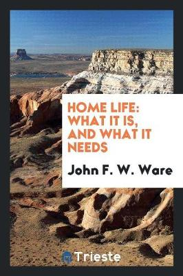 Home Life: What It Is, and What It Needs (Paperback)