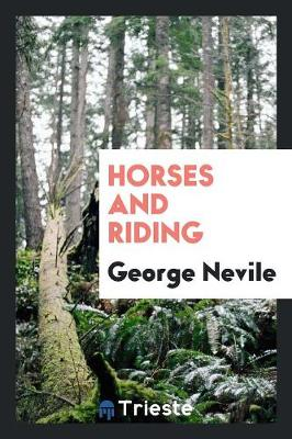 Horses and Riding (Paperback)