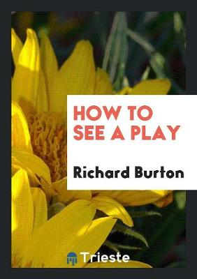 How to See a Play (Paperback)
