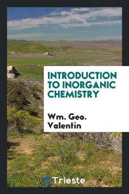 Introduction to Inorganic Chemistry (Paperback)