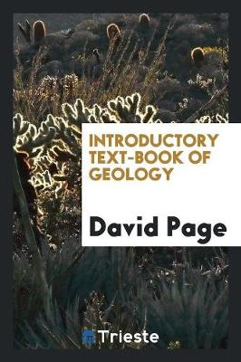 Introductory Text-Book of Geology (Paperback)